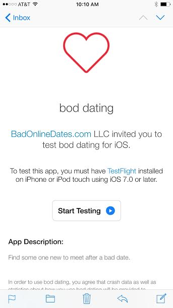 dating itunes app
